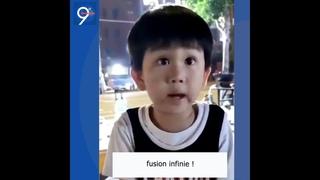 Un petit chinois qui nous enseigne la science🥰🤩🤗, est-il un extraterrestre?🤔🤔🤔