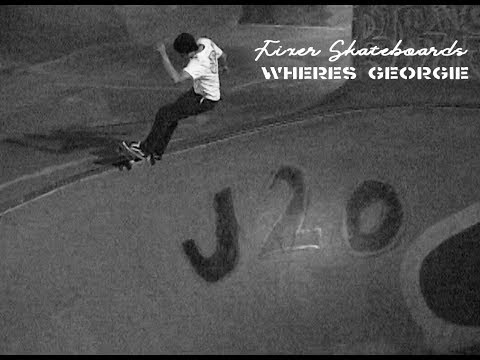 LOWCARD Fixer Skateboards Where's Georgie