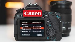 НАСТРОЙКИ КАМЕРЫ для съемки ВИДЕО на примере CANON EOS 80D