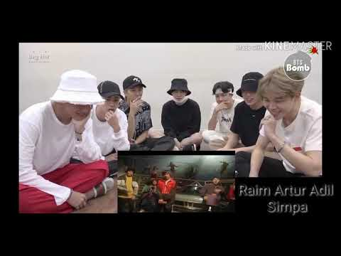 BTS Reaction to Raim Artur Adil Симпа