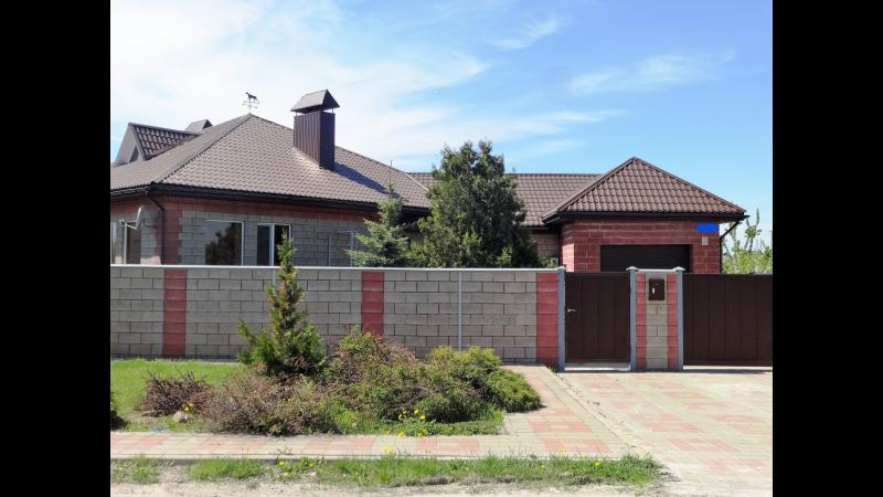 Продам шикарный 1-эт. кирпичный дом в живописном, экологически чистом Мкр. Новый, черта города. Один этаж 160 м2. три спальни,