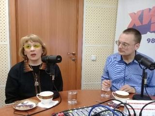 Яцкины Галина Ивановна и Василий Леонидович на радио Вера Тюмень