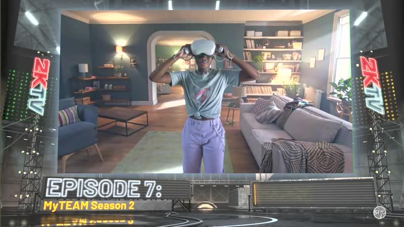 Видеореклама в NBA 2K21