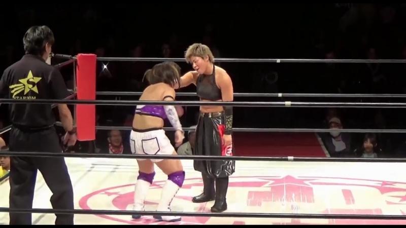 4. Hana Kimura, Kagetsu Natsu Sumire vs. Jungle Kyona, Natsuko Tora Yoko Bito