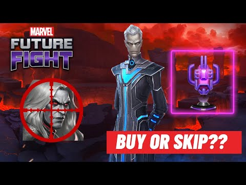 Ebony Maw T3 first look STRONGER than the Witch but only on Knull Marvel Future Fight
