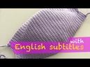 Çok Kolay Tığ İşi Örgü Maske Yapımı Face Mask Crocheting with English subtitles