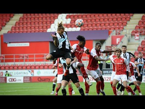 Rotherham United 1 Newcastle United 1 Pre Season Friendly Highlights