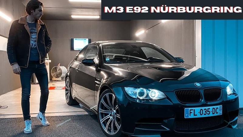 MA M3 E92 pour le Nürburgring Projet Piste X Breizh Motorsport