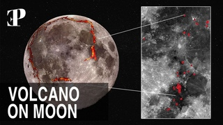 All Those Dead Volcanoes Are Still present On Surface of Moon