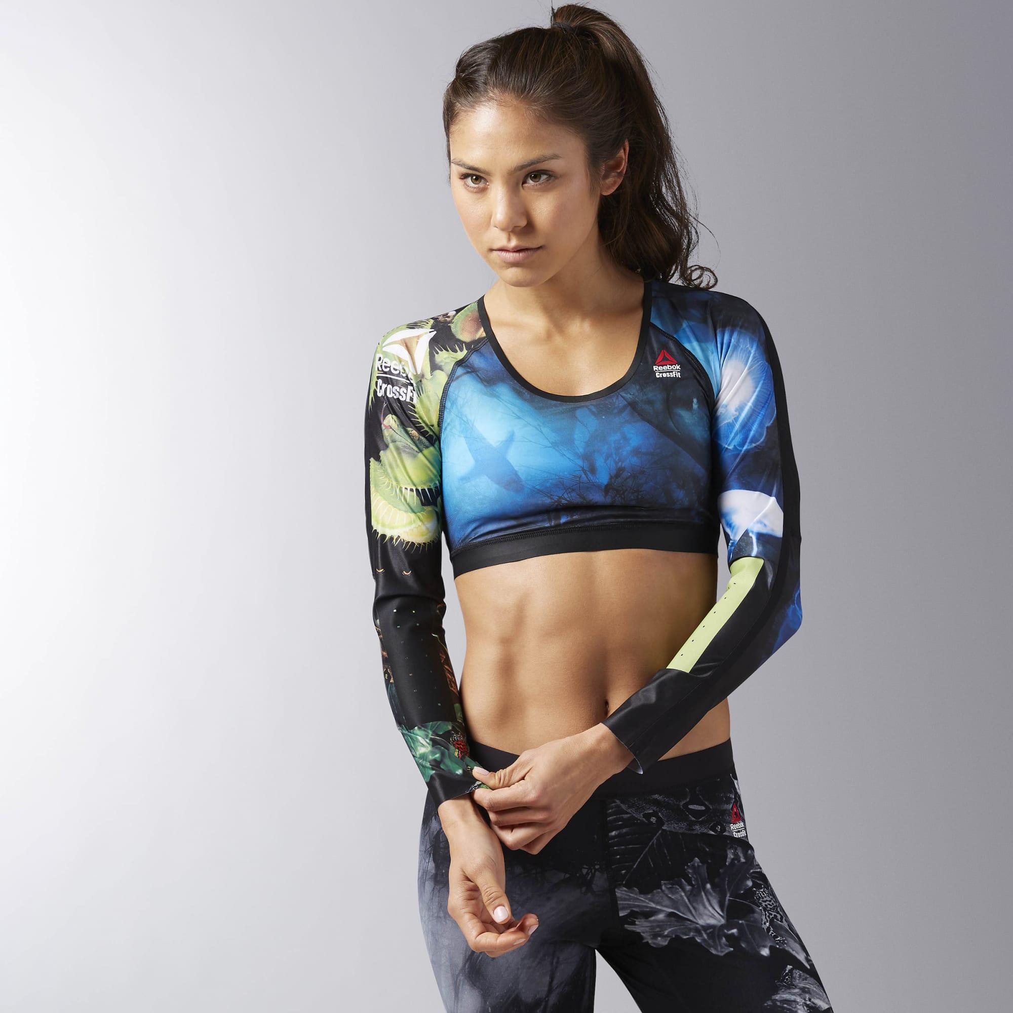 Укороченная компрессионная футболка Reebok CrossFit