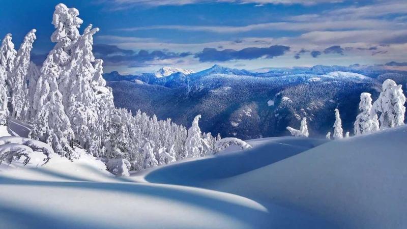 Красивая Зима Обои На Рабочий