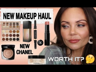 GRWM :  NEW LUXURY MAKEUP HAUL | NEW SPRING 2021 CHANEL | FAUXFILTER |TRANSITION PALETTE |