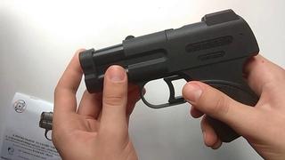 Обзор аэрозольного пистолета Пионер с ЛЦУ - обзор интернет магазина