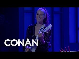 "Sofi Tukker ""Baby I'm A Queen"" 03/01/18  - CONAN on TBS"