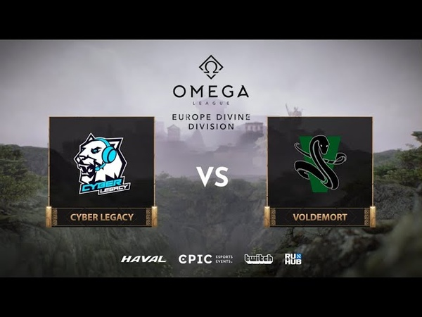 Cyber Legacy vs Voldemort OMEGA League Europe bo3 game 3 Jam Lost
