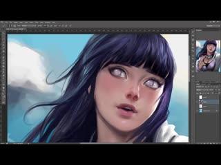 SakimiChan ART - Term 1 - hinata_VP
