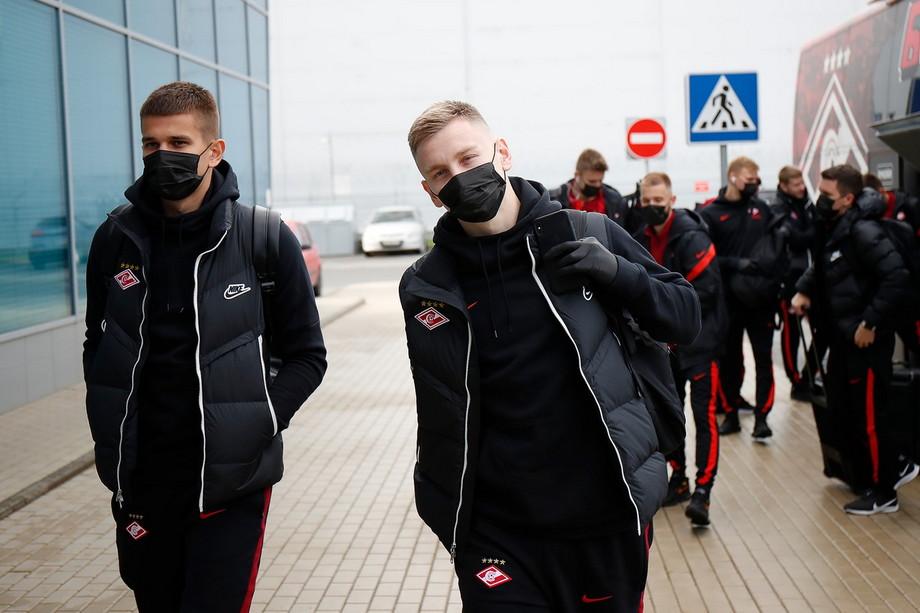 «Спартак» отправился в Красноярск