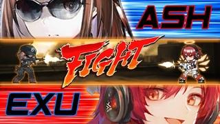 [Arknights CN] Ash vs Exusiai various Comparison (with Bonus Ash S3 Clip)