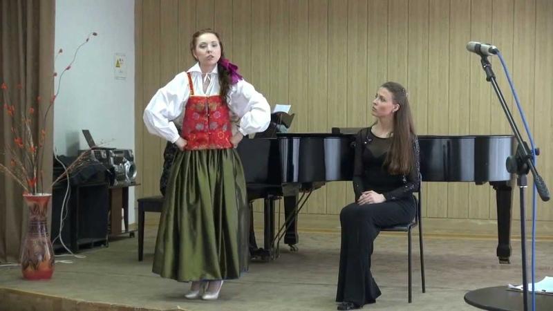 Юлия Марьясова Речитатив и песня Ольги Julia Mars Olga's song from opera 'The Mermaid'