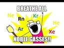 Breathing all the Noble Gases