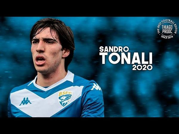 Sandro Tonali ► New Pirlo ● Best Skills Assists 2019 20 HD