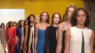 Akris SS2017 Fashion Show at Lever House in New York