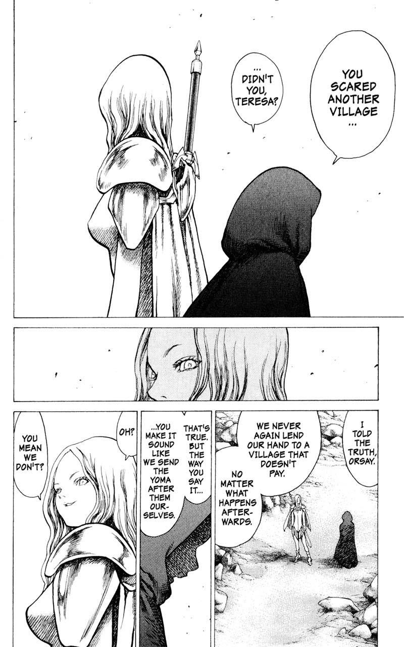 Claymore, Chapter 12, image #9