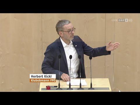 Herbert Kickl Wer zahlt die Kosten der Corona Krise 7 7 2021