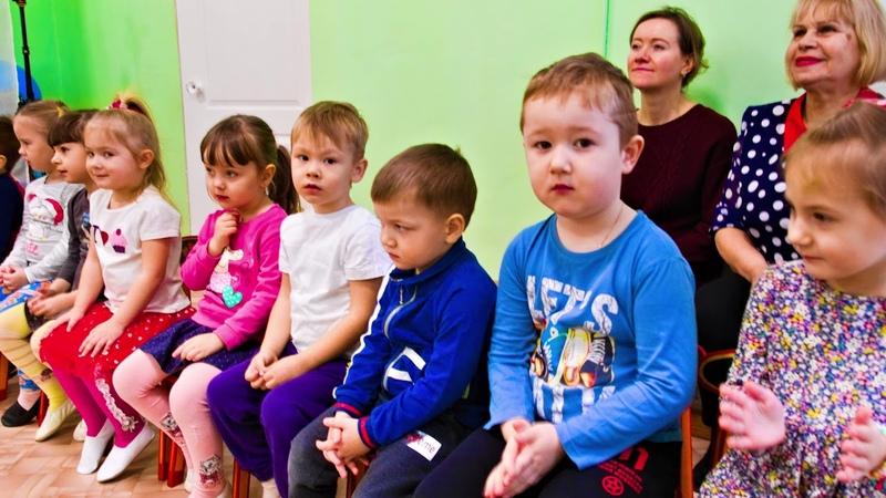 Масленица в детском саду п Авангард ансамбль Серпуховское подворье