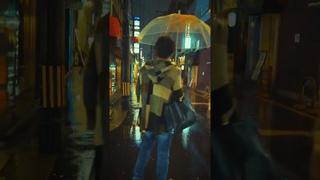 Osaka street at rainy day   walking snap movie 2021/4/4