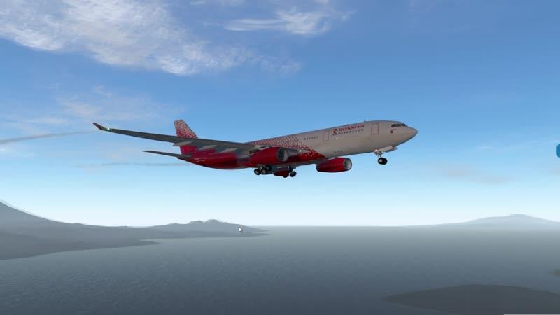 UUEE - WADD. Мой первый дальняк на AirbusA330