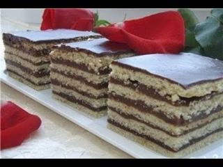 Торт Будапешт Песочный С Шоколадной Глазурью. Простой Рецепт Приготовления В Домашних Условиях