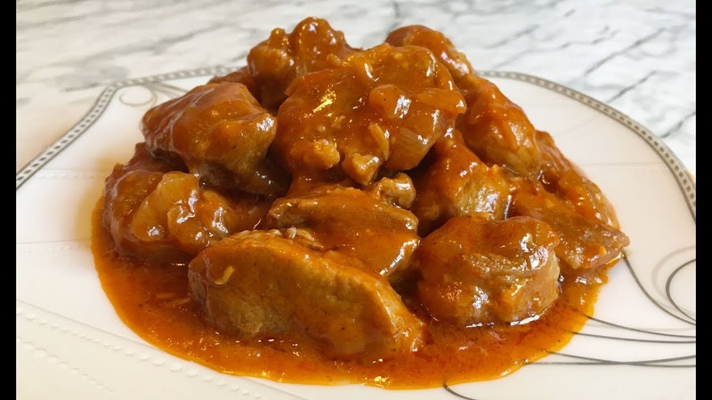 Идеальное Блюдо на Обед ГУЛЯШ ИЗ СВИНИНЫ Pork Goulash