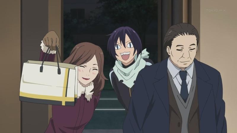Смешные моменты из аниме Бездомный Бог 2