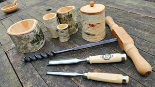 How To Carve A Shrink Pot - Chris Allen