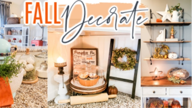 COZY FALL KITCHEN FARMHOUSE DECORATING IDEAS FALL HOME DECOR PART 2 Cook Clean And Repeat