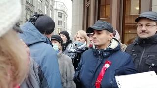 Приемная кандидата в депутаты ГД РФ Э. Ф. Рустамова // прямой эфир