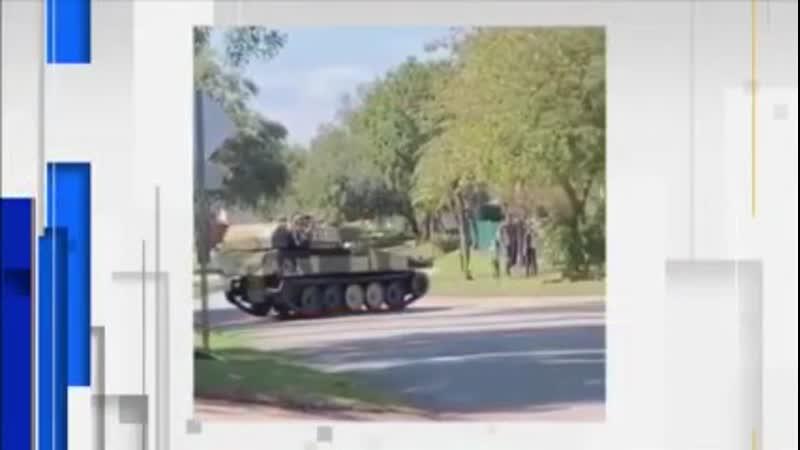 Обстановка в Америке накаляется житель Флориды решил пересесть на танк