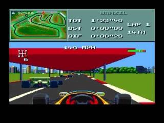 F1 World Championship (Sega Mega Drive)