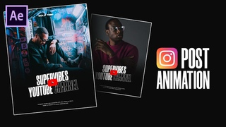DOPE Instagram Post Animations in After Effects - After Effects Tutorial