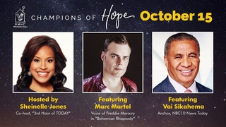 Marc Martel & Kids from Ronald McDonald Summer Camp sing Queen | Champions Of Hope Fundraiser Event