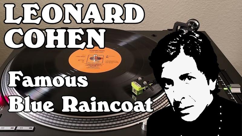 Leonard Cohen Famous Blue Raincoat Black Vinyl LP