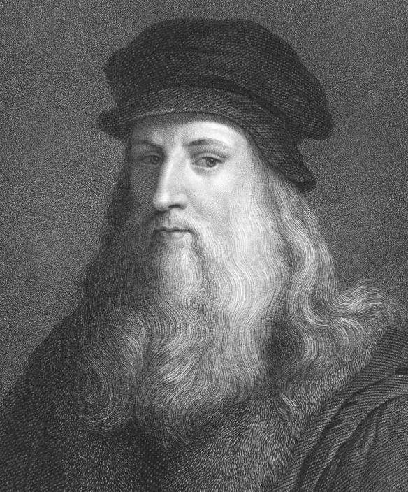 Леонардо да Винчи набросал планы механических роботов в 15 веке.