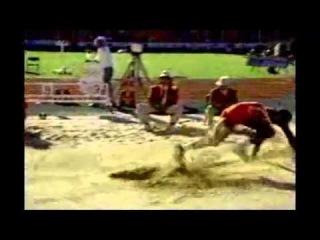 Top 10 longest foul long jumps of all time (men)