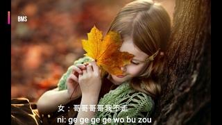 你莫走  ni mo zou - 山水组合 shan shui zu he (song version with pin yin lyrics)