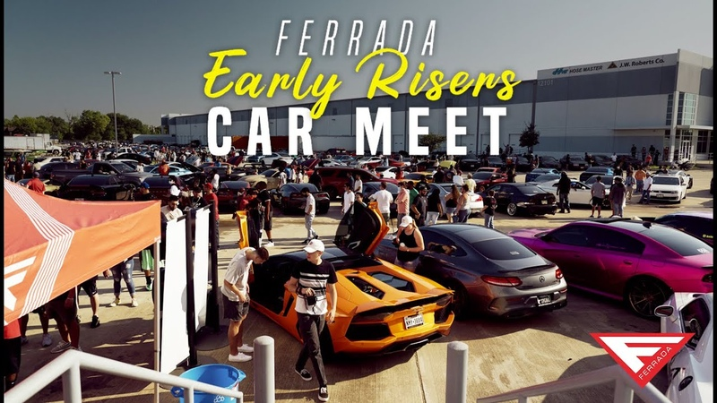 The Entire City Showed Up Ferrada Early Risers Car Meet