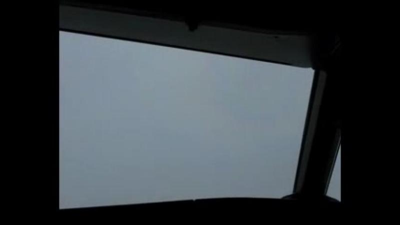 Домодедово. Посадка Аirbus A319