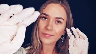 АСМР - ЗВУКИ РУК В ПЕРЧАТКАХ (СУХИЕ И ВЛАЖНЫЕ) | ДВИЖЕНИЯ РУК | ASMR HANDS SOUNDS | LATEX GLOVES