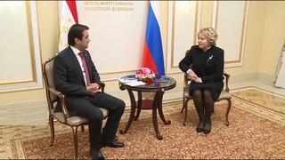 Встреча Валентины Матвиенко и Рустама Эмомали 2020: итоги