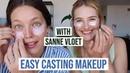 Easy Model Casting Makeup With Sanne Vloet Emily DiDonato